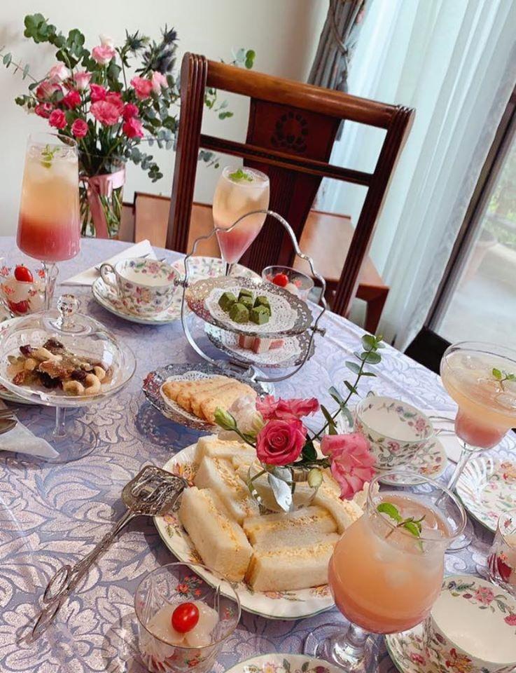 下午茶就像用看得見的儀式來提醒自己感受幸福真實存在的當下